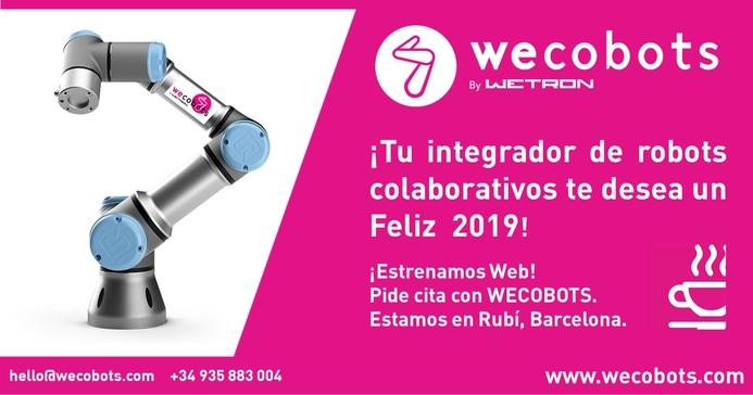 WECOBOTS_Feliz 2019 & Estrenamos Web 693 x 364 px