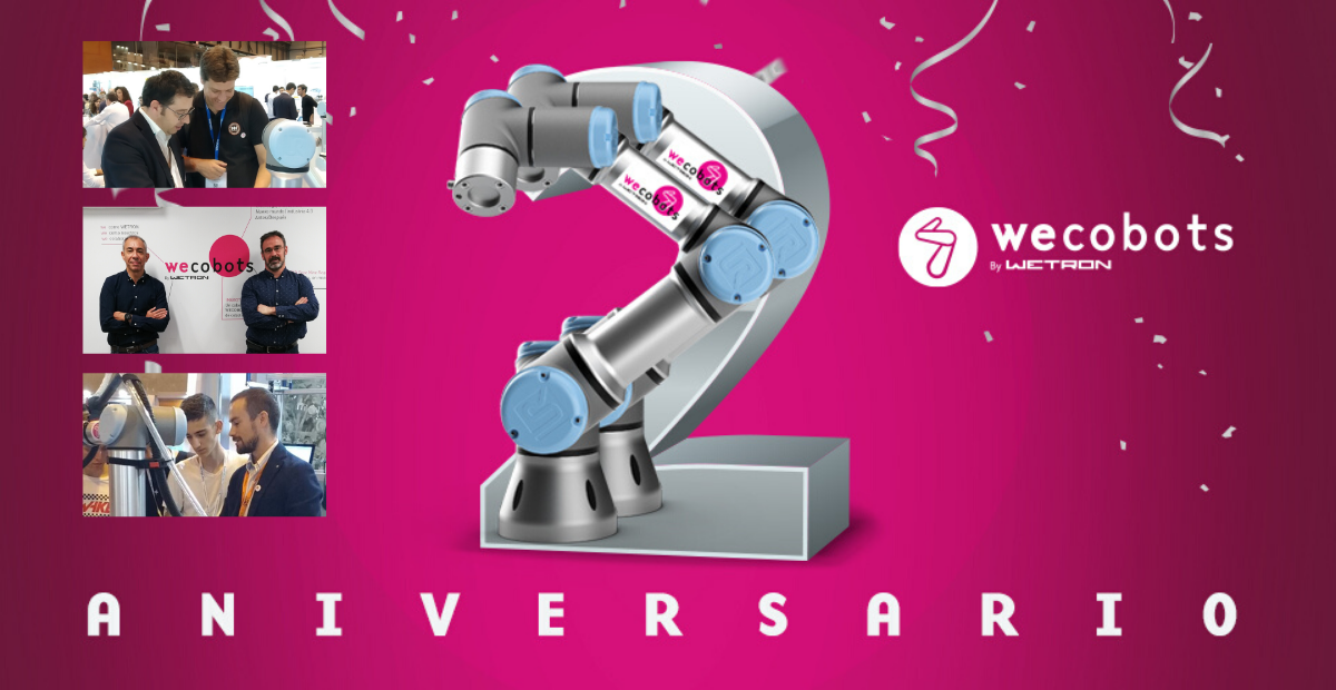 2º aniversario WECOBOTS