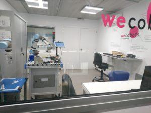 Laboratorio pruebas wecobots