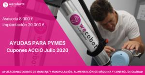 Cupones CCIO ayda PYMES