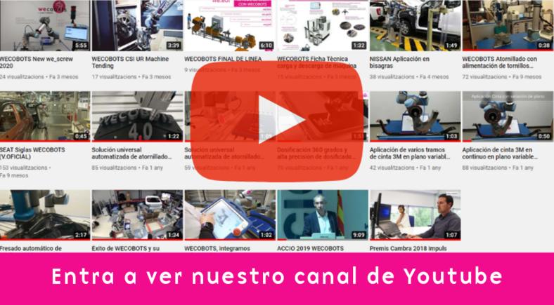 Entra a ver nuestro canal Youtube WEB